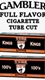 Gambler Full Flavor Cigarette Tube Cuts