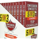 Swisher Sweet Cherry Cigarillos w/ Tip
