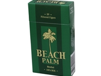 Beach Palm Menthol Filtered Cigars