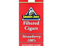 Smokin Joes Strawberry Filtered Cigars