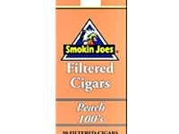 Smokin Joes Peach Filtered Cigars