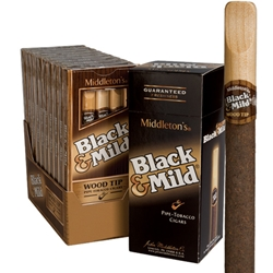Middleton Black and Mild Original 10x5 (50 cigars)