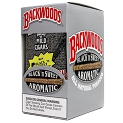 Backwoods Black & Sweet Cigars