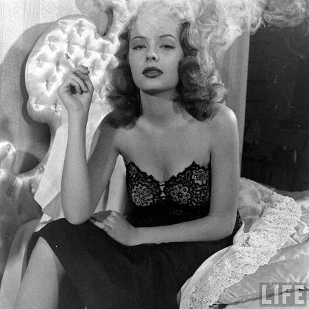 Jane Greer Smoking - Life Magazine