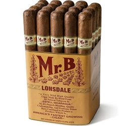 Buy discount Mr. B'S Cigars online with low prices and fast shipping! 24/7 customer service. All cigars are guaranteed to be fresh!