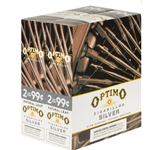 Optimo Silver blunt wraps