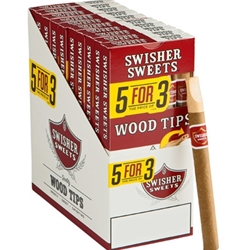 Swisher Sweet Wood Tip Cigars