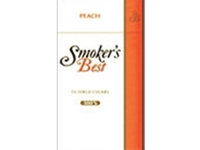 Smoker's Best Peach Filtered Cigars