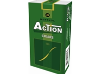 Action Menthol Filtered Cigars