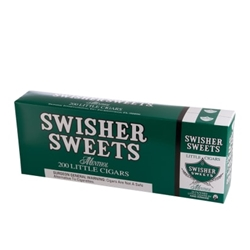 Swisher Sweet Filtered Little Cigars Menthol
