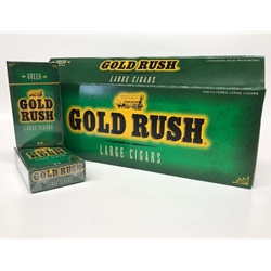 Gold Rush Menthol Filtered Cigars