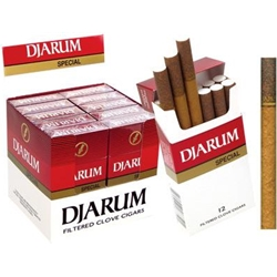 Djarum Special Filtered Cigars