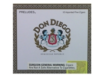Don Diego Preludes Cigars