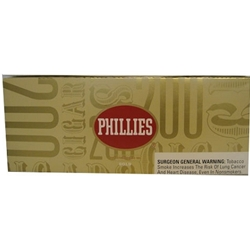 Phillies Gold Filtered Cigars
