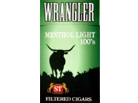 Wrangler Menthol lights Filtered Cigars