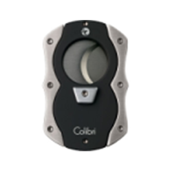 Colibri Cut Black & Brushed Chrome Cigar Cutter