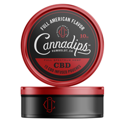 Cannadips CBD American Red Pouches