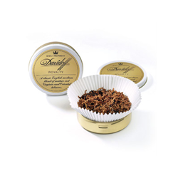 Davidoff  Royalty Pipe Tobacco Mixture Tin