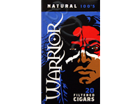 Warrior Natural Filtered Cigars