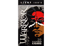 Warrior Light Filtered Cigars