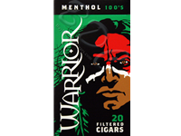 Warrior Menthol Filtered Cigars
