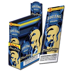 Zig Zag Blueberry Wraps