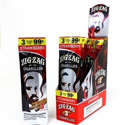 Zig Zag Cigarillo Strawberry 2pk