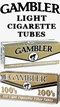 Gambler Light Cigarette Tubes